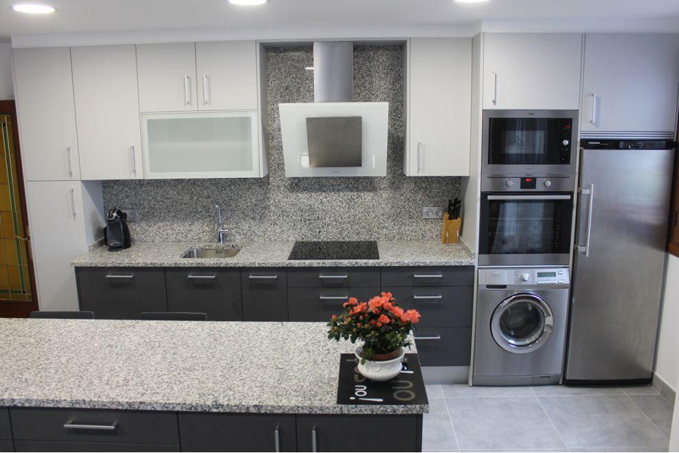 Cocina pr ctica y moderna a z mobiliario de cocinas - Mobiliario de cocinas ...